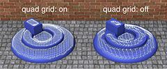 Setting 'quad grid'