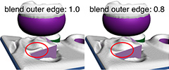 Setting 'blend outer edges'